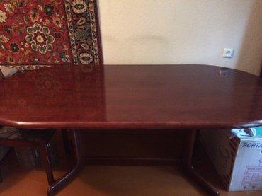 Срочно продаю большой стол 197х95 - 15000сом  - производство Малайзия в Бишкек