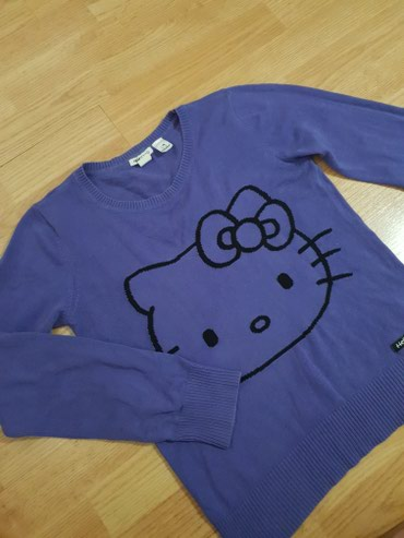 H&m hello kitty dzemper za devojcice od 12 do 14 godina - Loznica