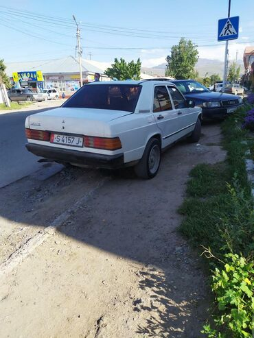 Транспорт - Каракол: Mercedes-Benz 190-Series 1.9 л. 1986 | 645000 км