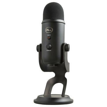 Аудиотехника - Кыргызстан: Blue Yeti Blackout Профессиональный USB - Микрофон для записи вокала