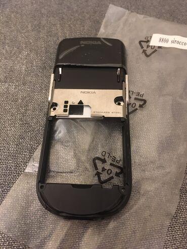 Nokia 8800 Sirocco Qara Təzə KarkazıSatışda Magazinnərdə Yoxdu