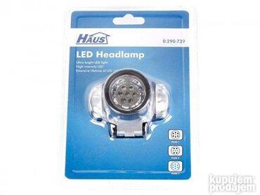 Lampa za glavu baterijska LED-5 3 AAA699 dinara- LED lampa naglavna- 7