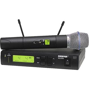 акустические-системы-archeer-с-микрофоном в Кыргызстан: Shure ulxs beta 87 a Описание товара  Беспроводные системы Shure ULX р