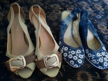 Личные вещи - Дачное (ГЭС-5): Размер всей обуви 39 одни серые Размер 35 всё отдам за 300 сом