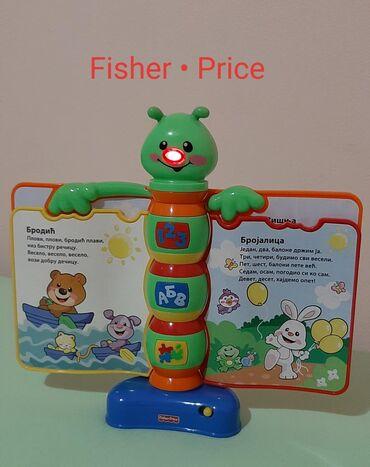 Fisher price - Srbija: Fisher Price muzička knjiga ISPRAVNO I OČUVANO