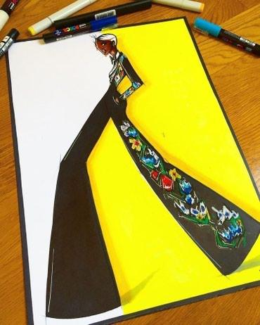 Ищу работу дизайнер одежды(приходящий).Опыт работы 12 лет в Бишкек