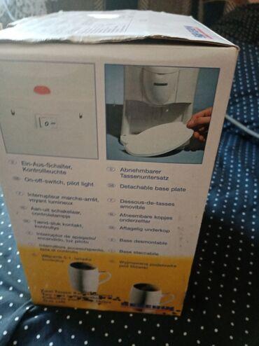Elektronika - Zabalj: Aparat za kafu, NOVO!! IZ UVOZA - NEMAČKA. Dobijaju se i dve soljice