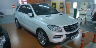 mersedes ml - Azərbaycan: Mercedes-Benz ML 350 3.5 l. 2012 | 104000 km