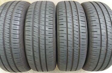 Комплект 185/55R15 летних шин Dunlop Enasave EC204 . Шины б\у в идеаль