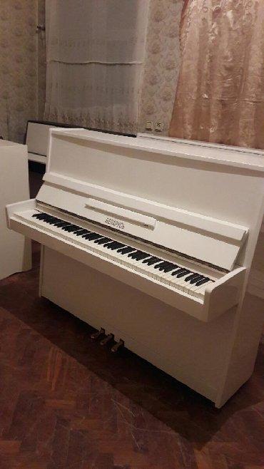 Pianino БЕЛАРУСЬ Rusiya stehsalı. Cox yaxcı vəziyyədədi. Köklənub