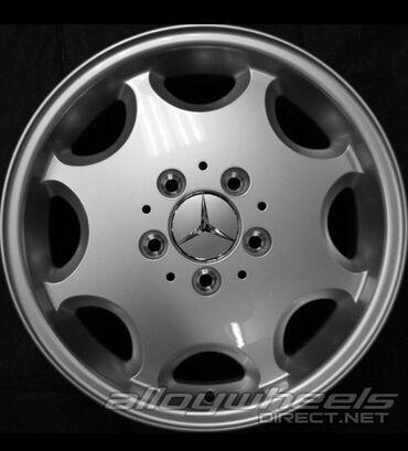 купить диски r15 4x100 в Кыргызстан: Mercedes R15 ромашки! W210, W202! Параметры дисков 7jx15h2et37