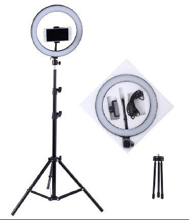 светильник настольный в Кыргызстан: Кольцевая лампа для макияжа, КУПИТЬ Кольцевая лампа для макияжа
