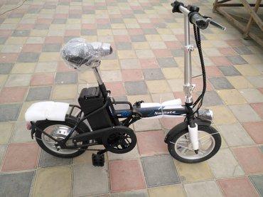 велосипеды от 1 года в Азербайджан: Велосипед с зарядкой от адаптора и с подзарядкой от педалей,запас хода