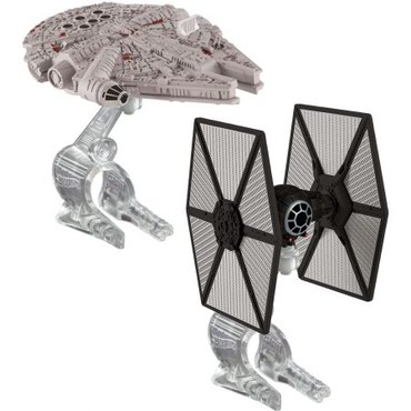 Hot Wheels Star Wars TIE Fighter vs. Millennium Falcon 2 Pack - Belgrade