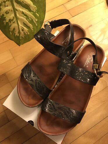 Safran sandale visina pete 3cm, veličina 41