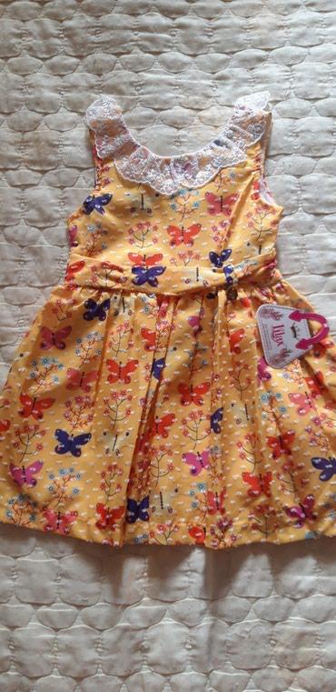 Новое детское платье,подклад в Бишкек