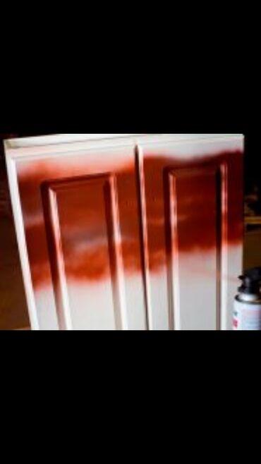 мдф лист цена бишкек в Кыргызстан: Покраска мебели. МДФ, дерево,фасады