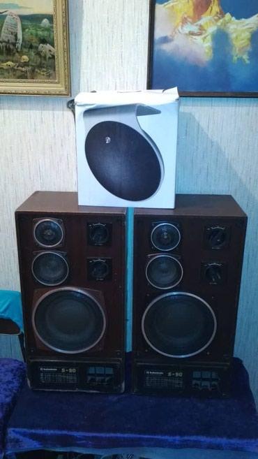 Колонки s90 продаю  на одной колонке в Бишкек