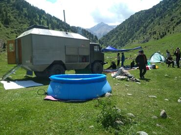 Услуги - Кызыл-Туу: Баня, Автобаня, баня в горах