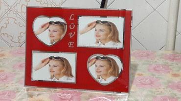 рамку для фото в Кыргызстан: Продаю рамку для фото, новая в упаковке. размер 35.5×27.5см