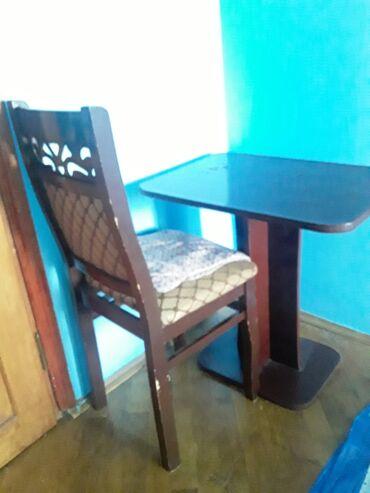 Kafe ucun stol stul satilir - Азербайджан: Stol stul satilir.sehifeme baxin basqa mallar da var.2eded stul