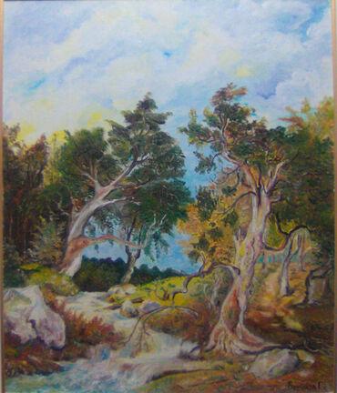 Slike | Smederevo: Autorsko i originalno umetnicko deloulje na platnu 50x60 cm sliku