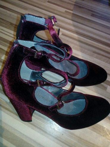 Personalni proizvodi | Smederevska Palanka: Cipele br 38 nove, bordo boje, antilop, prelepo stoje
