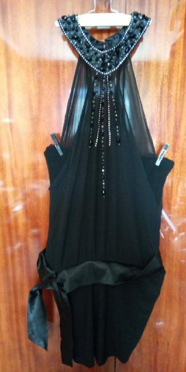 вечернее платье без бретелек в Кыргызстан: Продаю вечернее платье б/у. Размер 42-44. Платье без бретелек