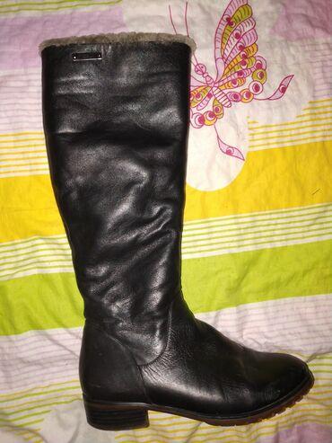 Личные вещи - Джал: Сапоги натуральные кожаные 37 размера очень теплые элегантные