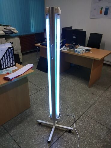 Медтовары - Кыргызстан: Бактерицидные лампы, под заказ!!!Мобильные (ультрафиолет)Высота 90см -