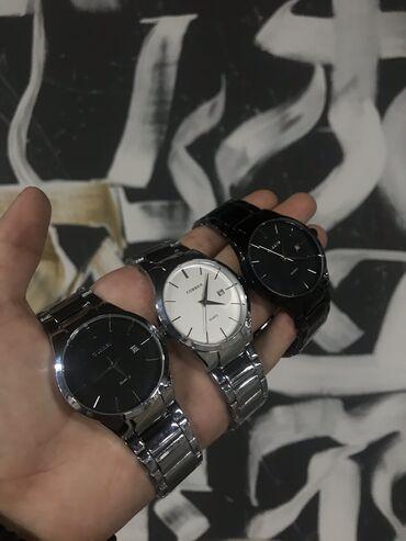 Белые Унисекс Наручные часы Curren