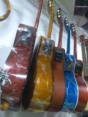Musiqi alətləri - İmişli: Ekvalazerli klassik gitaralar