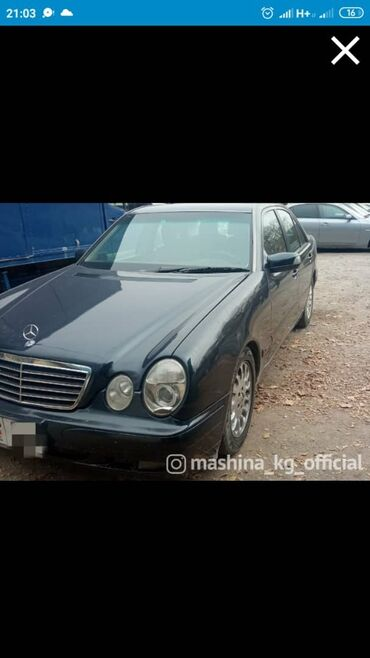 Mercedes-Benz E 240 2.4 л. 2000 | 26809 км