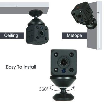 Мини камера новинка функции: * мегапиксельная wifi-камера hd 720p с 4