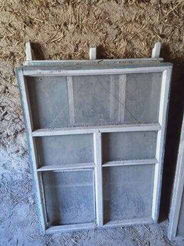 москвич 412 цена бу в Ак-Джол: Деревянные окна 15шт бу по 400с