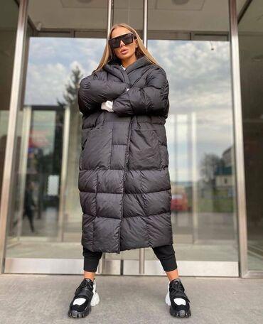 Турецкий товар - Кыргызстан: Турция! Оригинал! Куртка-одеяло, модель оверсайз! размер стандарт