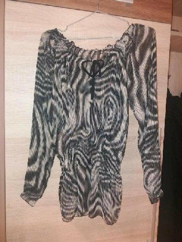 Nova nenošena bluzica tigrastog printa, materijal kvalitetan, veličina