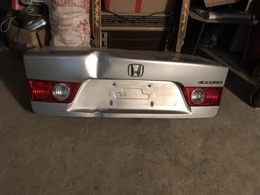 Багажник (крышка) honda accord цвет серебро
