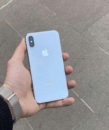 блютуз наушник в Азербайджан: Б/У iPhone X 64 ГБ Белый