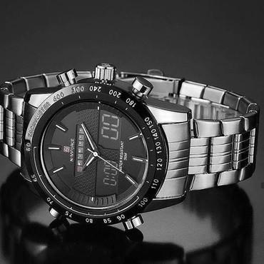 Личные вещи в Аджигабул: Черные Мужские Наручные часы NaviForce