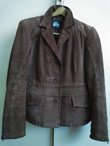 Italijanska jakna - Srbija: Italijanska ženska braon jakna Fratteli br. 38