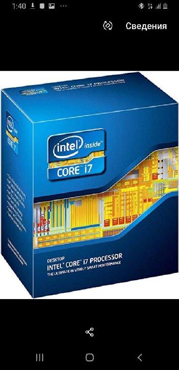 процессоры intel core i7 в Кыргызстан: Intel Core i7-2600 3.4GHZ   1155 Soket