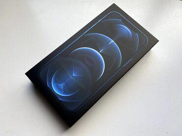 Новый iPhone 12 pro Pacific Blue 128гб запечатанный купленный в Apple