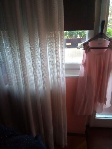 Puder rozenova, svecanaletnja bluzica.XL Made in Italy