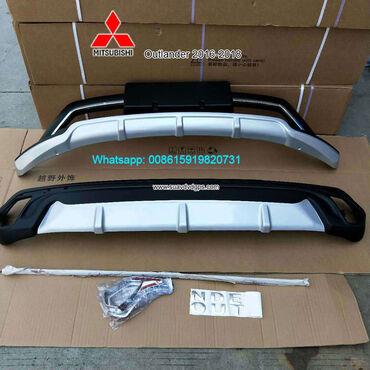 Mitsubishi Outlander 8 Car bumpersModel SUV-M618ABUMPER GUARD For