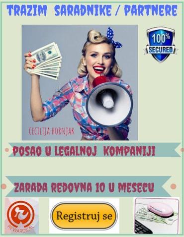 LEGALAN POSAO BEZ RIZIKA - Krusevac