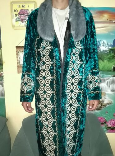 Личные вещи - Михайловка: Продаю кыргызский национальный костюм + калпак к костюму, в идеальном