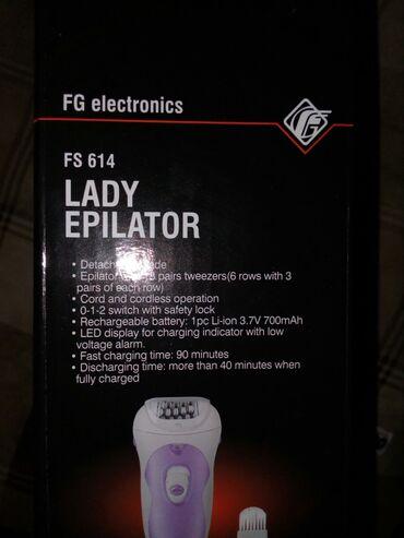 Depilator FS-614 Fisher Glava za uklanjanje dlacica: 6 redova po 3