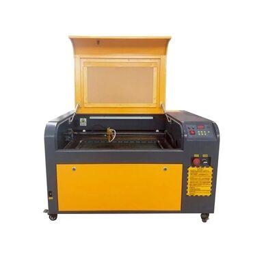 aparatı - Azərbaycan: Laser kesim aparati.  Modeli LCM 4060 Laserin tipi CO2 Volt 220 V Lase