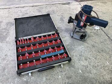 Инструменты - Кыргызстан: Обер фрезер +фрезы35шт в отличном состоянии причина продажи стоит бе